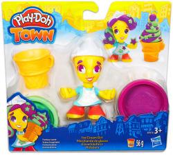 Hasbro Play-Doh: Town - Fagyis kislány (B5978)