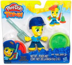 Hasbro Play-Doh: Town - Rendőr gyurmafigura (B5979)
