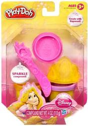 Hasbro Play-Doh - Disney Hercegnők: Aranyhaj ragyogó gyurmakészlet