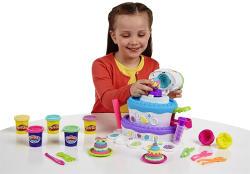 Hasbro Play-Doh: Sweet Shoppe - Tortahegy gyurmakészlet (A7401)