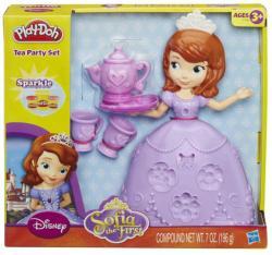 Hasbro Play-Doh - Disney: Szófia hercegnő teáskészlete (A7398)