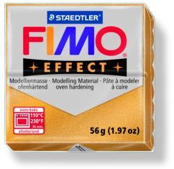 FIMO Effect égethető gyurma - Metál arany - 56g (FM802011)