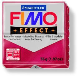 FIMO Effect égethető gyurma - Metál rubin - 56g (FM802028)