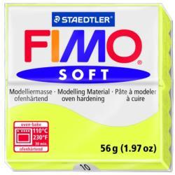 FIMO Soft égethető gyurma - Citromsárga - 56g (FM802010)