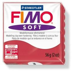 FIMO Soft égethető gyurma - Meggypiros - 56g (FM802026)
