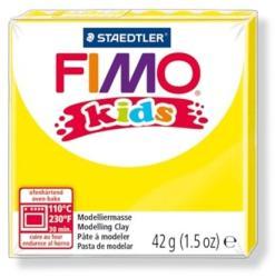 FIMO Kids égethető gyurma - Sárga - 42g (FM80301)