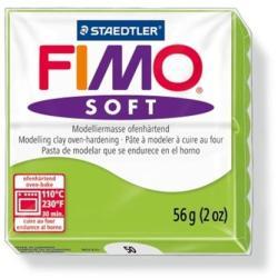 FIMO Soft égethető gyurma - Almazöld - 56g (FM802050)