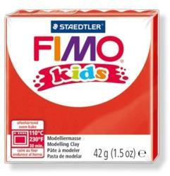 FIMO Kids égethető gyurma - Piros - 42g (FM80302)