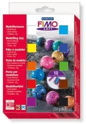 FIMO Soft Material Pack égethető gyurma készlet - Vegyes színek - 24x25g (FM802302)