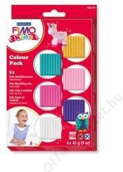 FIMO Kids Color Pack égethető gyurma készlet lányoknak - 6x42g (FM803202)