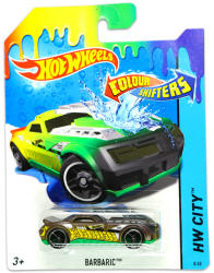 Mattel Hot Wheels - City - Barbaric színváltós kisautó