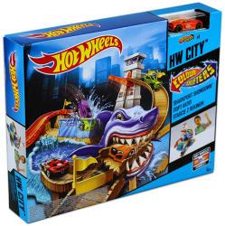 Mattel Hot Wheels - City - Cápatámadás színváltós kisautók pálya