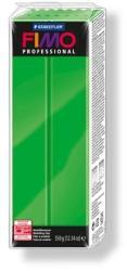 FIMO Professional égethető gyurma - Intenzív zöld - 350g (FM8001500)