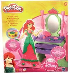 Hasbro Play-Doh - Disney Hercegnők: Ariel szépítkező asztala gyurmakészlet