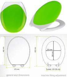 Wenko 204351 Wave - zöld