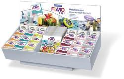 FIMO Soft égethető gyurma display - Vegyes színek - 72x57g (FM8093V9)