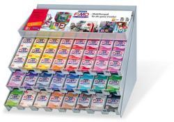 FIMO Soft égethető gyurma display - Vegyes színek - 240x56g (FM8093V3)
