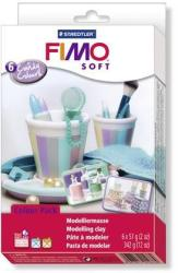 FIMO Soft Material Pack égethető gyurma készlet - Cukorszínek - 6x57g (FM802305)