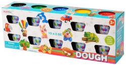 Playgo Gyurmák tégelyben 10 db-os készlet