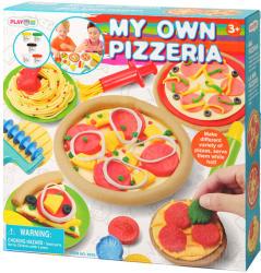 Playgo Az én pizzériám gyurmakészlet