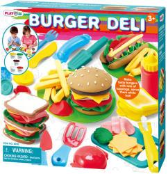 Playgo Deli hamburger-készítő gyurmakészlet