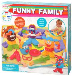 Playgo Vidám család gyurmakészlet