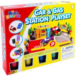 Kid's Toys Kid's Dough - Benzinkút építő gyurmakészlet