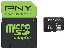PNY MicroSDHC Performance 8 GB UHS-I (SDU8GBPER50-EF)