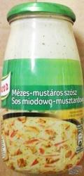 Knorr Mézes-Mustáros Szósz (525g)