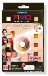 FIMO Professional Doll Art porcelángyurma kezdőkészlet - Vegyes színek - 12x25g (FM802701P)