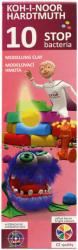 KOH-I-NOOR Bacteria - baktériummentes, színes modellgyurma - 10 db-os