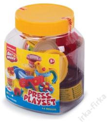 ErichKrause Artberry - Press Playset - 4 színes modellező gyurmaszett