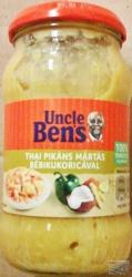 Uncle Bens Thai Pikáns Mártás Bébikukoricával (400g)