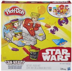 Hasbro Play-Doh Can-Heads - Star Wars: Millenium Falcon tégelyfej gyurmafigura készlet