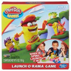 Hasbro Play-Doh: Launch-O-Rama gyurmás társasjáték