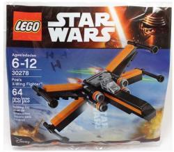 LEGO Star Wars - Poe X-szárnyú vadászgépe (30278)