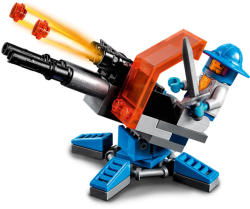 LEGO Nexo Knights - Knighton hiperágyú (30373)