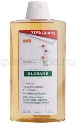 Klorane Camomille sampon szőke hajra (Golden Highlights Shampoo) 400ml