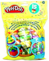Hasbro Play-Doh - Party tasak 15 tégelyes gyurma utántöltő készlet