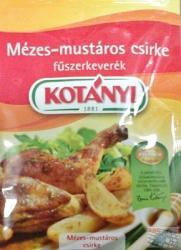 KOTÁNYI Mézes-mustáros Csirke Fűszerkeverék (30g)