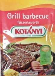 KOTÁNYI Grill Barbecue Fűszerkeverék (30g)