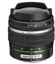 Pentax SMC PENTAX DA 10-17mm f/3.5-4.5 ED (IF) Fish-eye Zoom (21580)