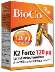 BioCo K2 Forte Vitamin 120g Tabletta (60db)