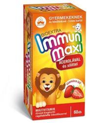 Bioextra Immun Maxi Szamócás Rágótabletta (60db)