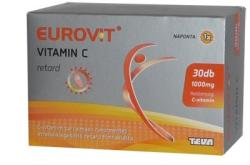 Eurovit C-vitamin 1000mg retard tabletta - 30db