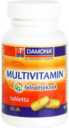 Damona Multivitamin tabletta felnőtteknek - 60 db