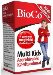 BioCo Multi Kids Acerola-K2 Rágótabletta (60db)