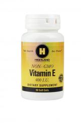 Highland Laboratories E-Vitamin Tabletta (90db)