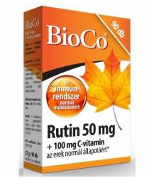 BioCo Rutin 50mg + C-Vitamin 100mg Tabletta (90db)