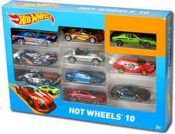 Mattel Hot Wheels - Hot Wheels 10 (10db-os kisautó készlet)